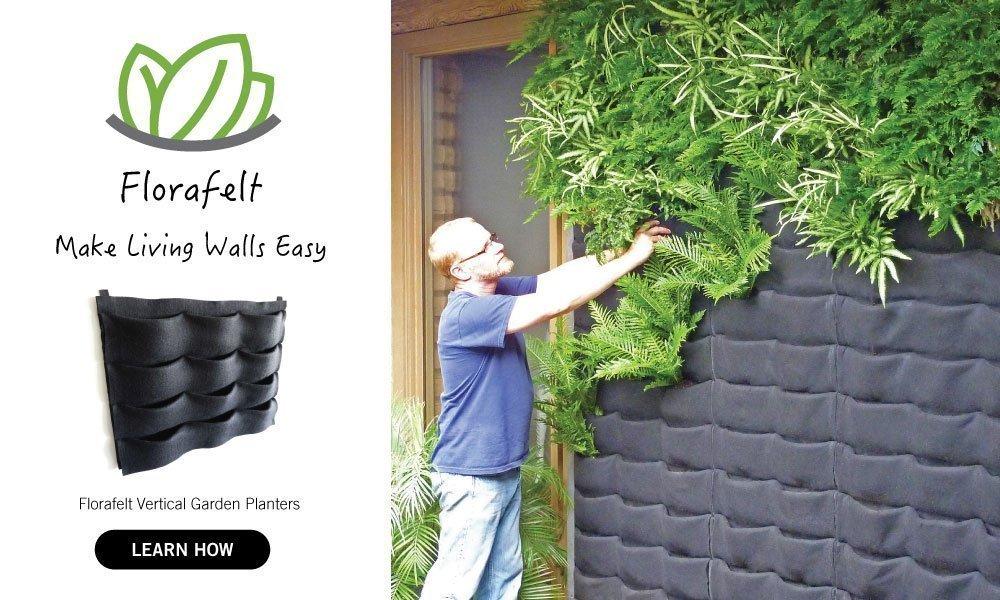 Florafelt vertical garden systems make living walls easy for Vertical planting system