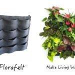 Florafelt 12-Pocket Vertical Garden Planter