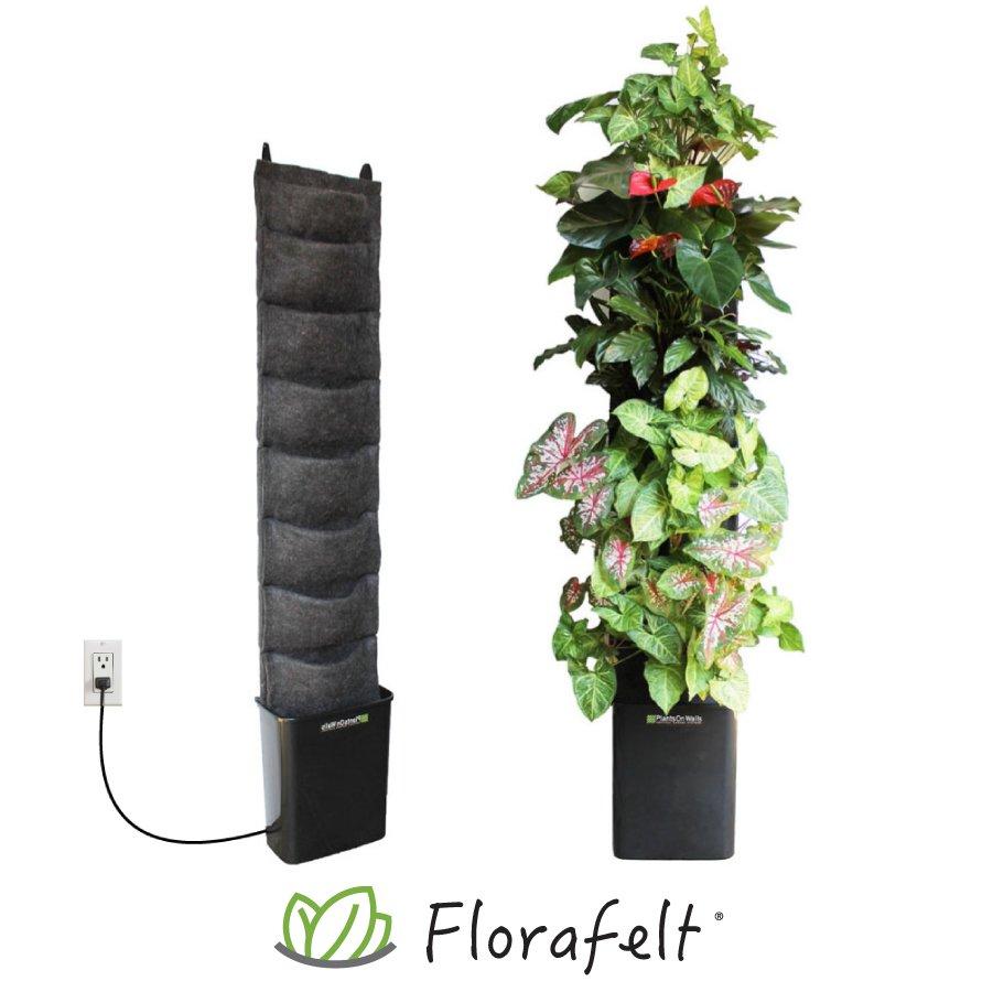 Lovely Florafelt® Compact Vertical Garden Kit