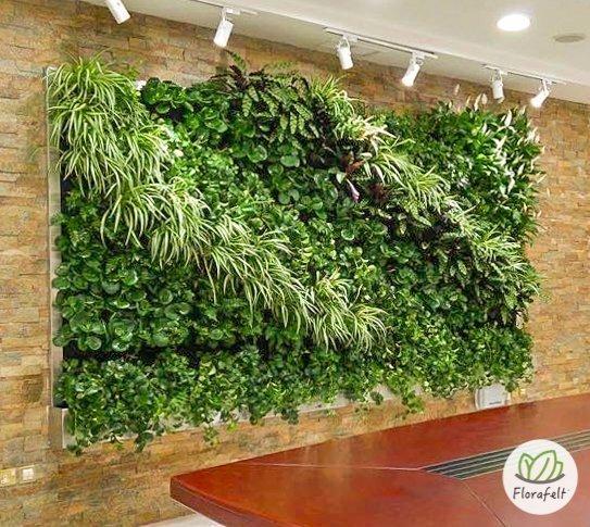 Florafelt Vertical Garden Systems Make Living Walls Easy