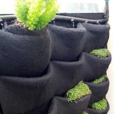 Florafelt Pockets Vertical Garden Drip Irrigation