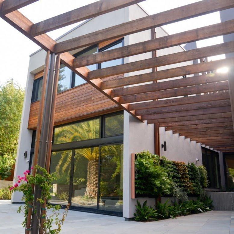 Florafelt Pocket Panel Vertical Garden Installation On