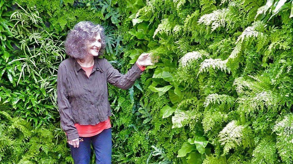 Florafelt Pockets Vertical Garden Fern Walls